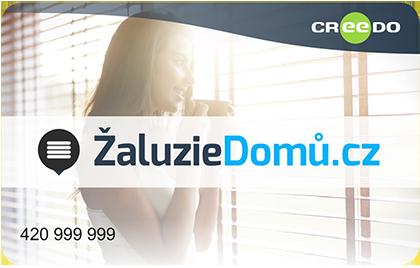 CREEDO Žaluziedomu.cz