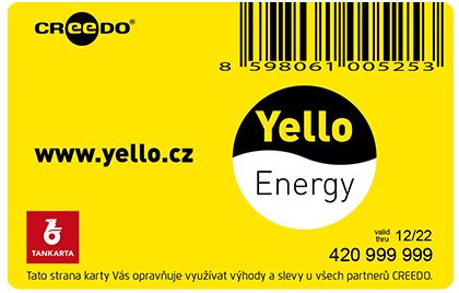 Přední strana karty CREEDO - Yello
